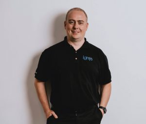 Richard Fletcher MD Ignys 20 years in the electronics industry